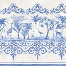 Cobalt Blue Wallcovering by Cole & Son Wallpaper