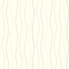 White/Gray Bohemian Wallcovering by York