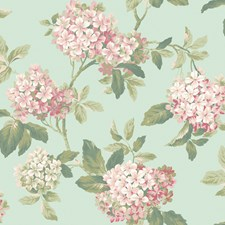 Greens Flowers Wallcovering by York
