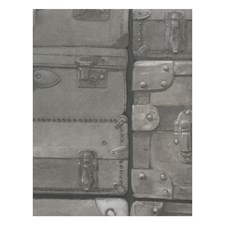 Gunmetal Novelty Wallcovering by Andrew Martin Wallpaper