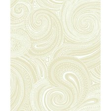 Beige/Cream Wall Décor Wallcovering by York