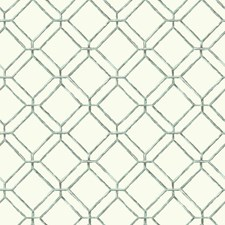 White/Light Aqua/Dark Grey Geometrics Wallcovering by York