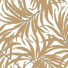 Off White/Tan/Darkest Grey Botanical Wallcovering by York