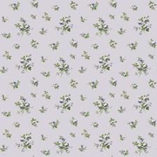 Palest Lavender/Lavender/Blush Pink Floral Wallcovering by York