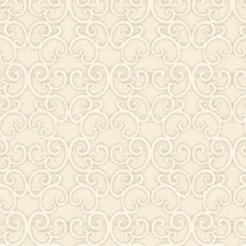 White/Silver Traditional Wallcovering by York