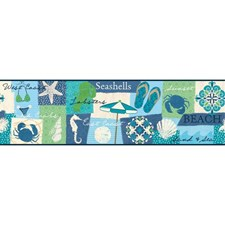Blue/Green Novelty Wallcovering by York