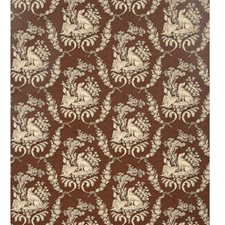 Espresso Animal Wallcovering by Brunschwig & Fils