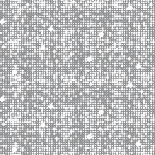 Silver/White Geometrics Wallcovering by York