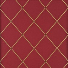 Red/Gold Wallcovering by G P & J Baker