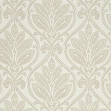Ivory/Linen Damask Wallcovering by G P & J Baker
