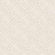 Ivory/Silver Wallcovering by G P & J Baker
