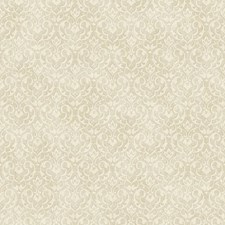 Pale Gold/Cream Damask Wallcovering by York