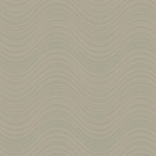 Metallic Silver/Grey/Silver Glass Beads Foil Wallcovering by York