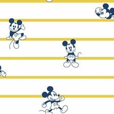 DI0931 Disney Mickey Mouse Stripe by York