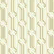 Beige/Soft Gold/White Trellis Wallcovering by York