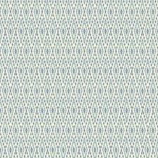 White/Aqua/Medium Denim Blue Harlequin Wallcovering by York