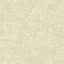 Cream/Beige/Taupe Traditional Wallcovering by York