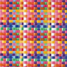 FAB12902 Basket Multicolour Adhesive Film by Brewster