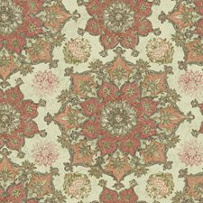 Cream/Coral/Peach Novelty Wallcovering by York