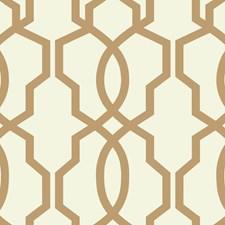 Tan/Cream Geometrics Wallcovering by York