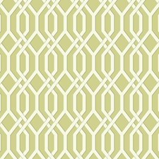 Light Yellow/Green/Cream Geometrics Wallcovering by York
