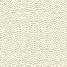 Beige/Light Brown/Light Grey Geometrics Wallcovering by York