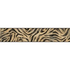Tan/Black/Taupe Sure Strip Wallcovering by York
