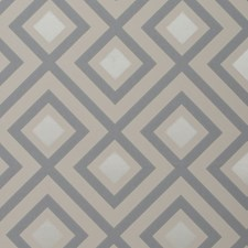 Platinum Geometric Wallcovering by Groundworks