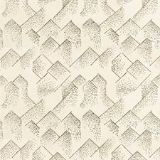 Cream/Onyx Modern Wallcovering by Groundworks