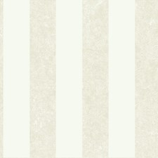 Shimmering Ivory Pearl Metallic/Winter White/Putty Stripes Wallcovering by York