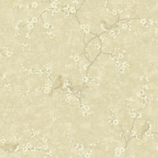 Ecru/Taupe/Silver Animals Wallcovering by York