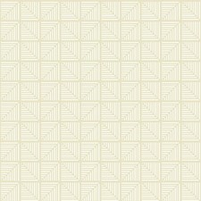 Beige/White Bohemian Wallcovering by York