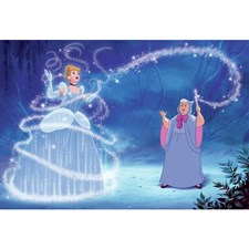 JL1375M Cinderella Magic XL Mural by York