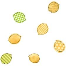 White/Lemon/Lime Lemons Wallcovering by York