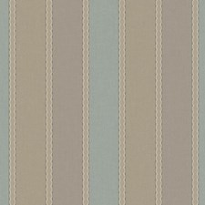 Tan/Taupe/Aqua Stripes Wallcovering by York