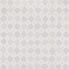 White/Light Grey/Silver Modern Wallcovering by Kravet Wallpaper