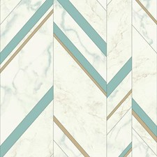 MM1802 Marble Chevron by York