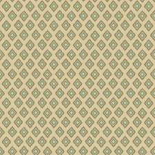 Beige/Tan/Teal Harlequin Wallcovering by York