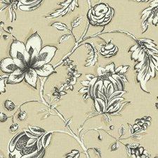 Cream/Beige/White Bohemian Wallcovering by York