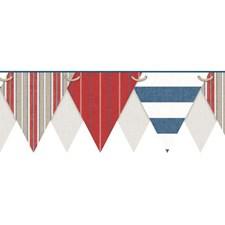 Beige/Ecru/Tan Stripes Wallcovering by York