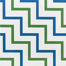 Blue/Green Geometric Wallcovering by Lee Jofa Wallpaper