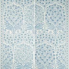 Blue/Indigo Botanical Wallcovering by Lee Jofa Wallpaper