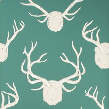 Teal Animal Wallcovering by Lee Jofa Wallpaper