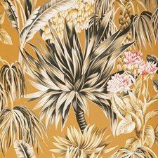 Bronze Botanical Wallcovering by Lee Jofa Wallpaper