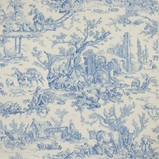 Bluebell Toile Wallcovering by Brunschwig & Fils