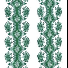 Emerald Print Wallcovering by Brunschwig & Fils