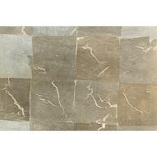Nickel Metallic Wallcovering by Brunschwig & Fils