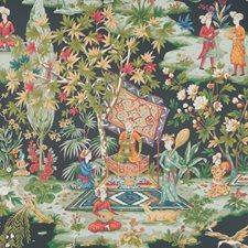 Onyx Botanical Wallcovering by Brunschwig & Fils
