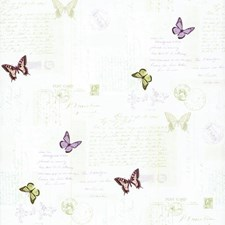 Off White/Green/Yellow Bugs Wallcovering by York