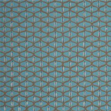 Teal/Silver Wallcovering by Baker Lifestyle Wallpaper